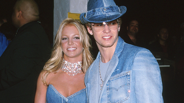 Britney Spears & Justin Timberlake of NSYNC (Photo by Jeffrey Mayer/WireImage)